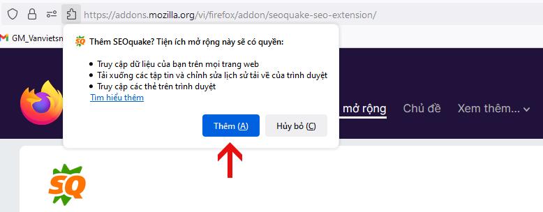 Thêm vào Firefox