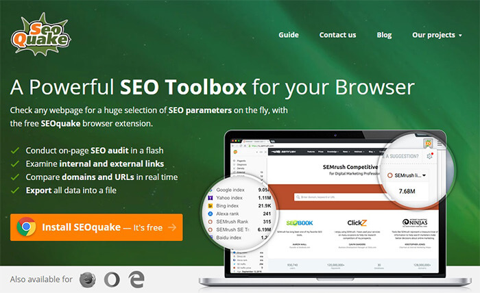 Phần mềm tiện ích kiểm tra website chuẩn SEO